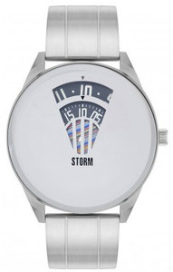 Storm Elevator Stainless Steel Mirror Glass Dial Men's Watch