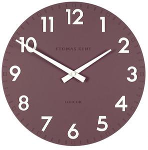 Thomas Kent Camden Designer Wall Clock Plum Colour (30 cm) CK12130