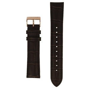 Hugo Boss Replacement Watch Strap Brown Genuine Leather 20mm For HB.275.1.34.2847 With Free Connecting Pins