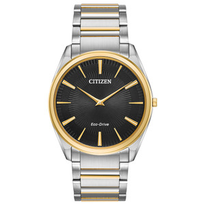 Citizen Eco-Drive Stiletto Ultra-Thin Two-Tone Men's Watch AR3074-54E