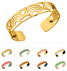 Les Georgettes Ladies Bracelet Gold Small Size Poisson