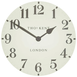 Thomas Kent Arabic Wall Clock Double Cream Colour CK12174 (30 cm)