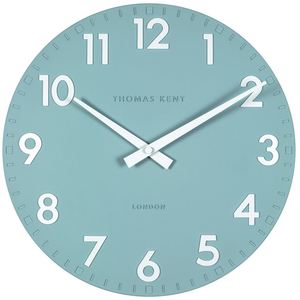 Thomas Kent Camden Designer Wall Clock Teal Colour (30 cm) CK12131