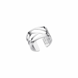 Les Georgettes Ladies Ring Silver Small Size Ruban