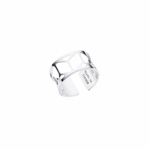 Les Georgettes Ladies Ring Silver Medium Size Resille