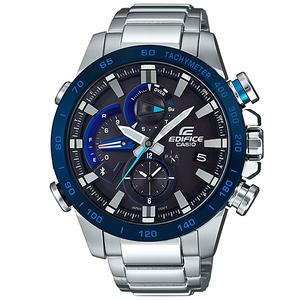 Casio Edifice Bluetooth Race Lap Chronograph Watch Tough Solar Blue EQB-800DB-1AER