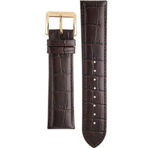 Hugo Boss Replacement Watch Strap Brown Genuine Leather 22mm For HB.88.1.34.2243.1