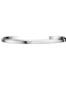 Daniel Wellington Silver Large Jewellery Cuff DW00400002