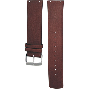 Skagen Watch Replacement Brown Leather Strap 23mm For SKW6082 With Free Screws