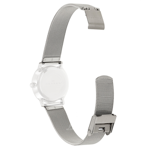 Skagen Replacement Silver Mesh Watch Strap 14mm For 804SSS With Free Connecting Pins