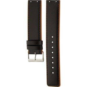 Skagen Replacement Brown Leather Watch Strap For 351XLSL With Free Connecting Screws