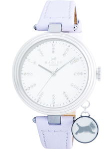 Radley Replacement White Leather Watch Strap 16mm For RY2047 With Free Pins