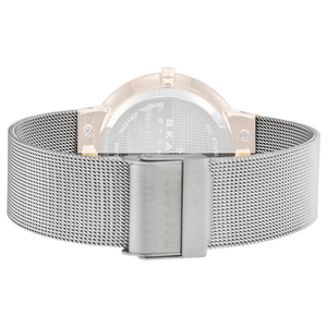 Skagen Replacement Silver Mesh Watch Strap 18mm For 456LRS With Free Connecting Screws
