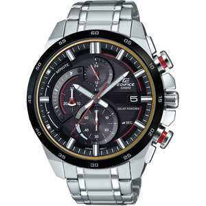c207656f394f Edifice Mens Solar Powered Chronograph Stainless Steel Watch  EQS-600DB-1A4UEF