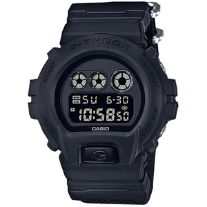 G-Shock Blackout Nylon Strap Watch DW-6900BBN-1ER