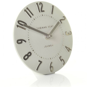 Thomas Kent Mulberry Mantel Silver Colour Cloud Clock CK6203 (15 CM)