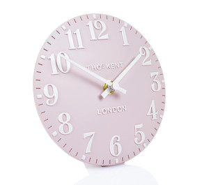 Thomas Kent Arabic Mantel Dusty Pink Colour Clock CK6174 (15 CM)