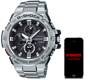G-Shock Metal Bluetooth Stainless Steel Tough Solar Watch GST-B100D-1AER