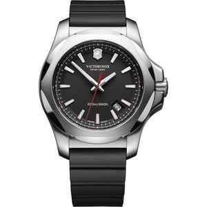 Victorinox Swiss Army I.N.O.X. Sapphire Date Black Dial Black Strap Watch 241682.1