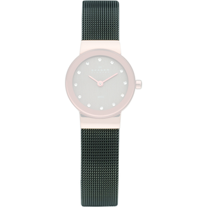 Skagen Replacement Black Mesh Watch Strap 12mm For 358XSRM With Free Connecting Screws