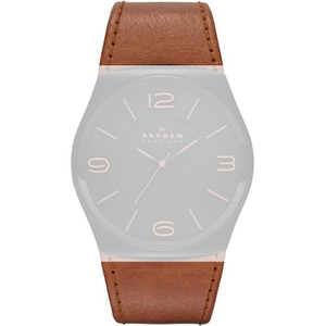 Skagen Replacement 30mm Leather Strap For SKW6040 With Free Screws