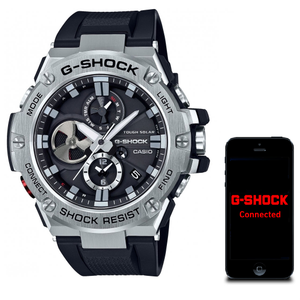 G-Shock Metal Bluetooth Stainless Steel Tough Solar Watch GST-B100-1AER