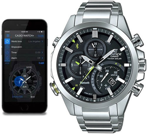 23a80b7ca0df EQB-501D-1AER Casio Edifice Bluetooth Tough Solar Watch