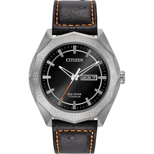 Citizen Men's Eco-Drive Dodecagon Date Display Watch AW0060-03E