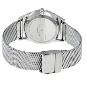 Skagen Replacement Silver Mesh Watch Strap 18mm For SKW2342 With Free Connecting Pins