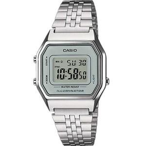 Casio Unisex Grey Dial Classic Alarm Digital Watch LA680WEA-7EF