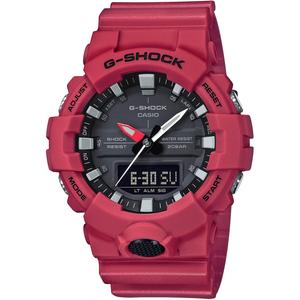 G-Shock Red Analogue Digital Chronograph Watch GA-800-4AER