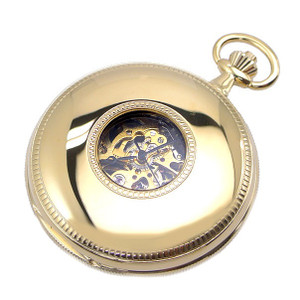 Royal London Half Hunter Double Lid Mechanical Pocket Watch 90029-02