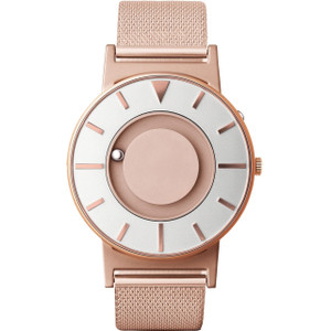 Eone Bradley Braille Tactile Watch For Blind Rose Gold Mesh BR-RO-GLD