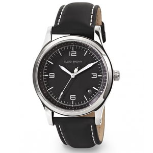 Elliot Brown Kimmeridge Ladies Black Leather Watch 405-005-L58