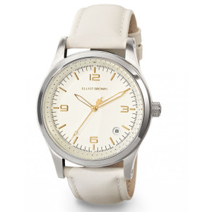 Elliot Brown Kimmeridge Ladies Extreme Sports Ivory Leather Watch 405-008-L54