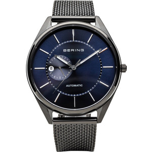 Bering Men's Automatic Blue Dial Milanese Strap Watch 16243-227