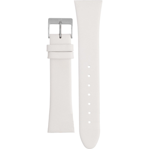 Skagen Replacement White Leather Strap 22mm For 649SSLWW
