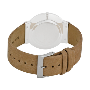 Skagen Replacement 22mm Leather Strap For SKW6103 With Free Screws