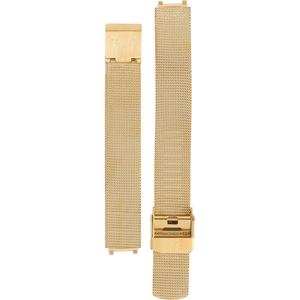 Skagen Replacement Gold Mesh Watch Strap 14mm For 233XSGG With Free Connecting Pins