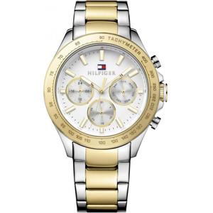 Tommy Hilfiger Men's Hudson White Dial Stainless-Steel Bracelet Watch 1791226