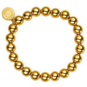 Tommy Hilfiger Casual Core Gold Plated Beaded Bracelet 2700502