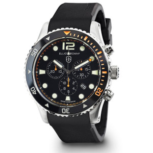 Elliot Brown Bloxworth Men's Rubber Strap Orange Watch 929-005-R01