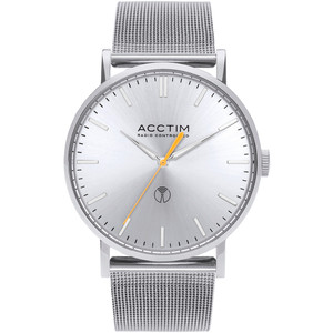 Acctim Sterling Men's Radio Controlled Silver Dial Milanese Mesh Bracelet Watch 60427