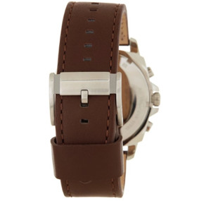d9a4f8862ada Replacement Strap for Fossil BQ1732 Brown Genuine Leather With Free Pins