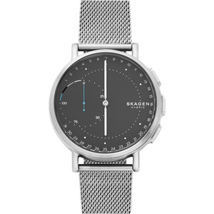 Skagen Connected Bluetooth Black Dial Mesh Strap Watch SKT1113