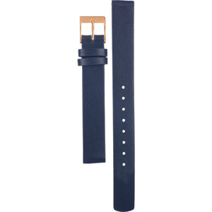 Skagen Replacement Blue Leather Watch Strap 12mm For SKW2592 With Free Pins