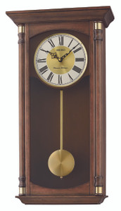Seiko Westminster Chime And Whittington Chime Pendulum Wooden Wall Clock QXH069B