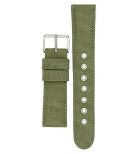 Citizen Genuine Khaki 22mm Fabric Watch Strap 59-S52401 For BV1080-18A