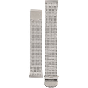 Skagen Replacement Silver Mesh Watch Strap 18mm For 39LSS With Free Connecting Pins