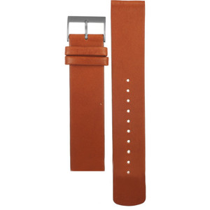 Skagen Replacement Brown Leather Watch Strap 20mm For SKW6418 With Free Connecting Pins
